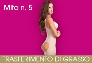 Mito n. 5: in un solo intervento posso eseguire contemporaneamente la liposuzione di tutto il corpo