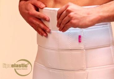Come indossare e lavare correttamente la fascia addominale LIPOELASTIC?