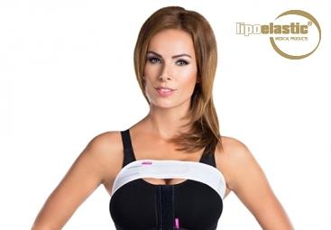 Come indossare correttamente la fascia stabilizzante ergonomica per il seno LIPOELASTIC?